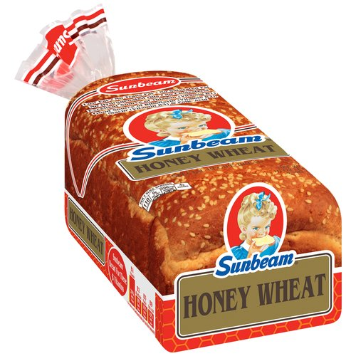 Sunbeam Honey Wheat Bread, 16 oz