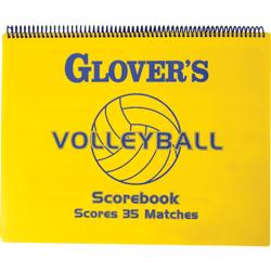 Glover's Scorebooks Short-Form Volleyball Scorebook by Glover's