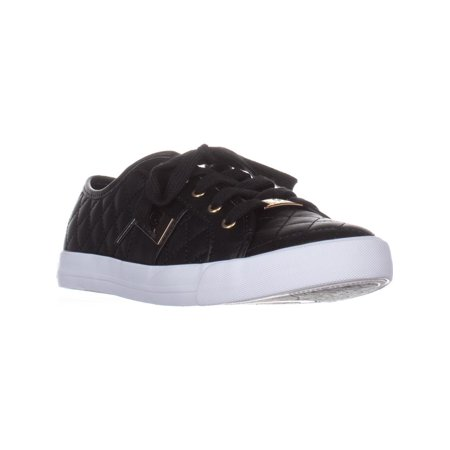 Womens G by Guess Backer2 Quilted Fashion Sneakers, Black