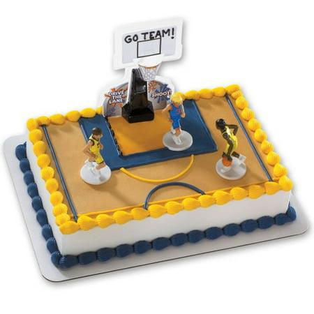 Strange Basketball All Net Decoset Cake Decoration Boys Walmart Com Funny Birthday Cards Online Alyptdamsfinfo