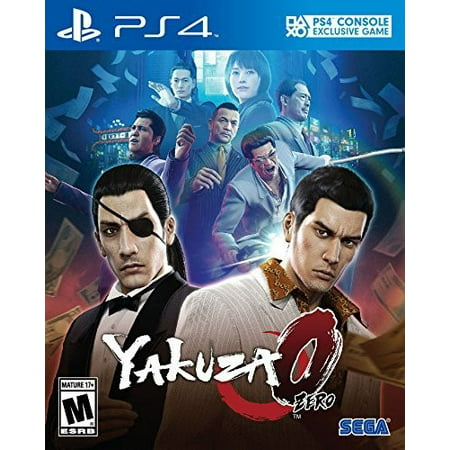 Yakuza 0 - PlayStation Hits, Sega, PlayStation 4, 010086632064