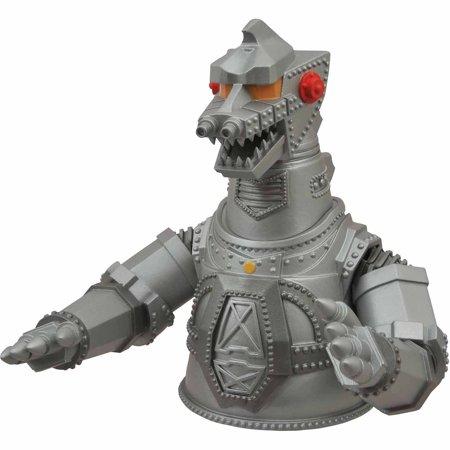 Diamond Select Toys Godzilla Mechagodzilla Vinyl Bust Bank