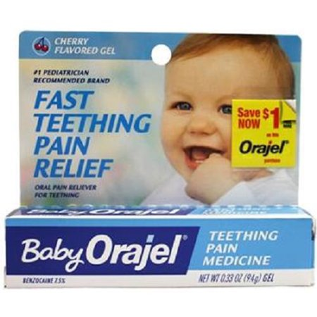 Baby Orajel Instant Relief For Teething Pain Cherry