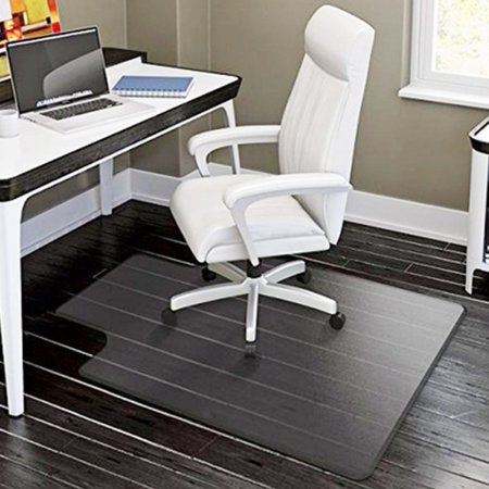 PVC Matte Desk Office Chair Floor Mat Protector for Hard Wood Floors 48″ x 36″