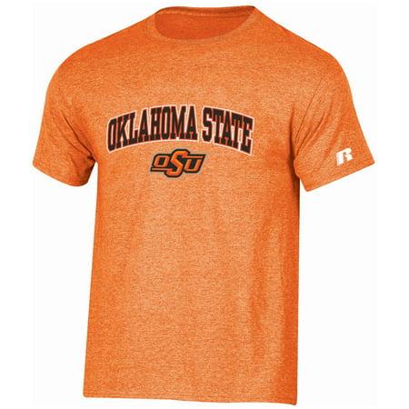 Men's Russell Orange Oklahoma State Cowboys Core Print T-Shirt - Oklahoma State Cowboys Gear