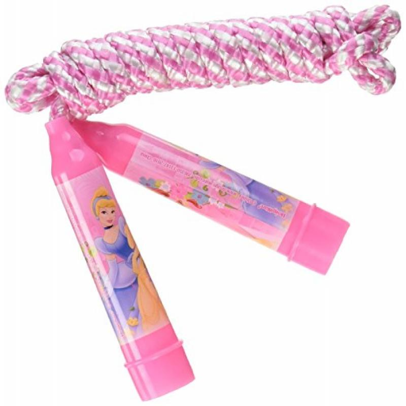 "Disney Princess Jump Rope Birthday Party Favour (1 Piece), Pink, 80""."