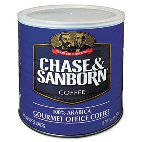 Office Snax 33000 Coffee, Regular, 34.5 Oz. Can