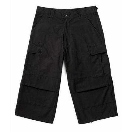 Creative Black Mens Cargo Pants - Pant Olo