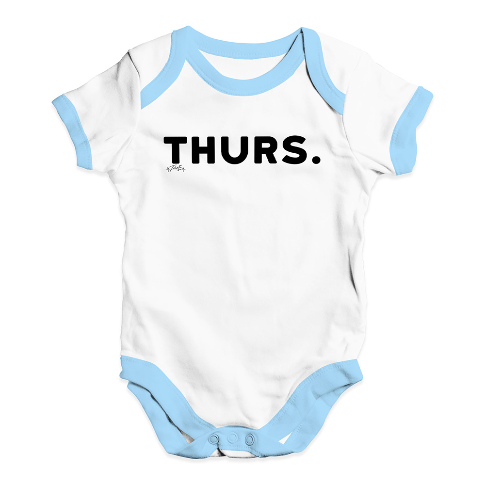 7e1b146a9 Baby Unisex Baby Grow Bodysuit THURS Thursday Funny Baby Clothes ...