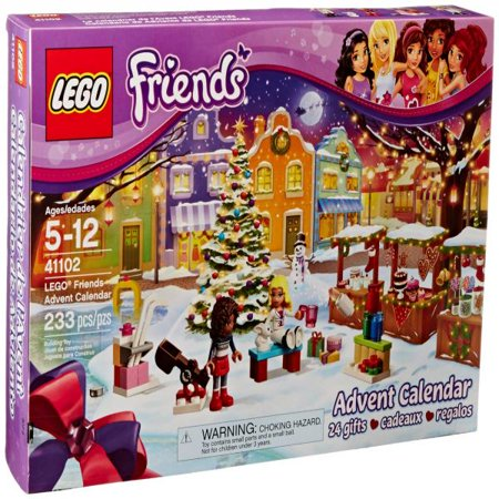 Lego Friends 41102 Advent Calendar Building Kit  Discontinued By Manufacturer
