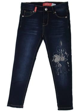 8H704S - Girls' Stretch 5 Pockets Premium Skinny jeans