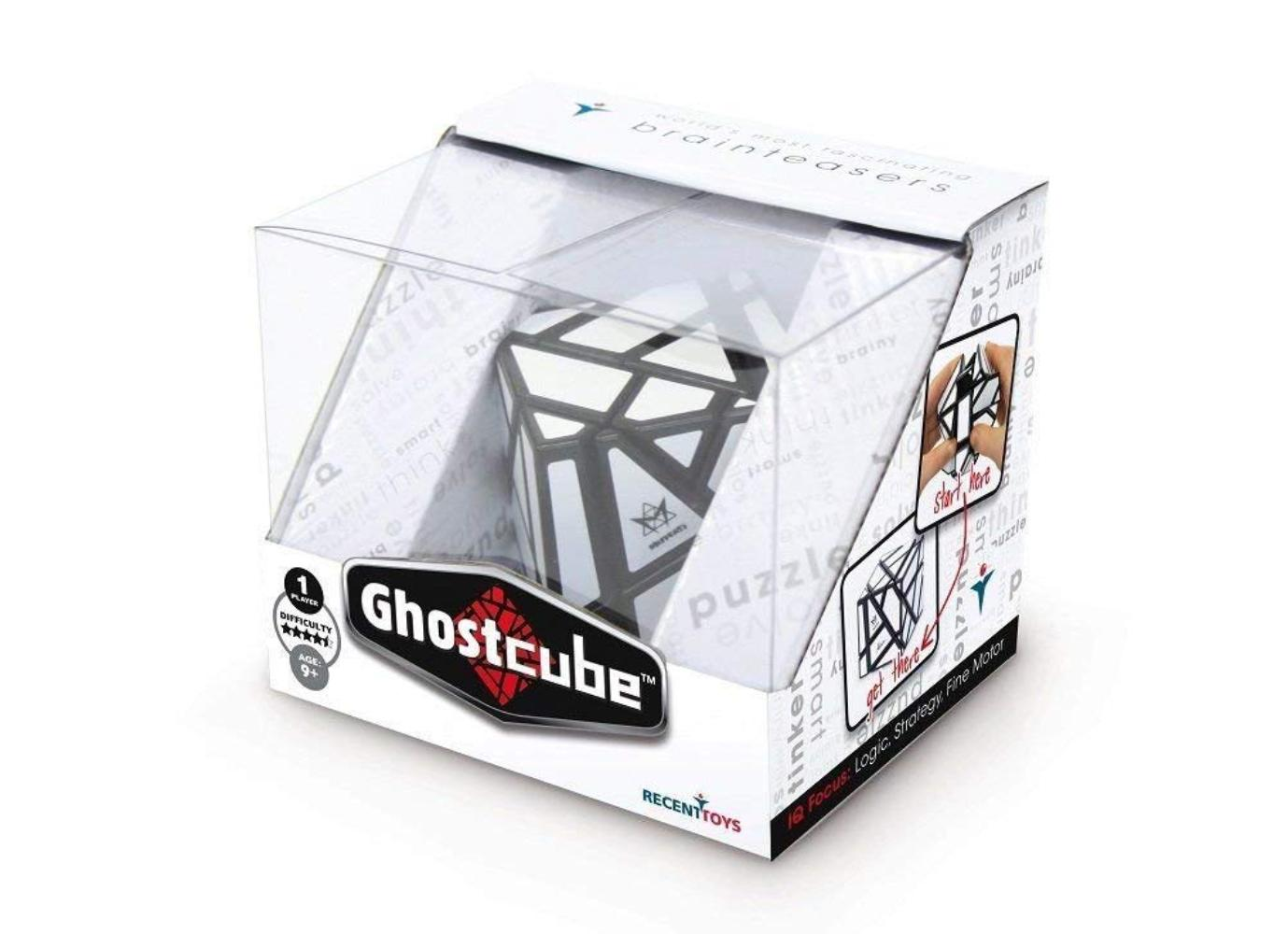 Uwe Meffert's Puzzles: Ghost Cube Brain Teaser, Assorted, At first glance, its a six-sided cube. By Project... by