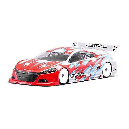 Pro-Line Racing 2014 Dodge Dart Light Weight Clear Body, ...