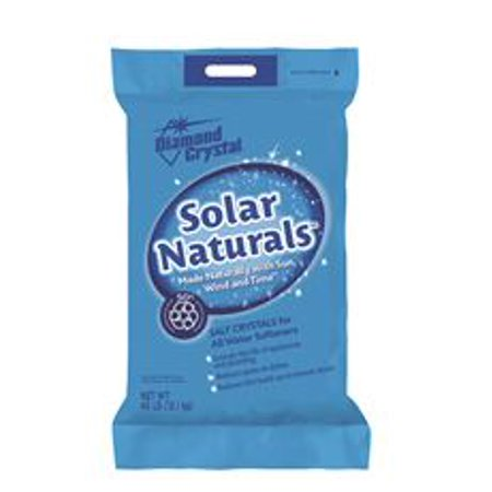 Diamond Crystal? Solar Naturals? Salt Crystals for Water Softeners 40 lb.