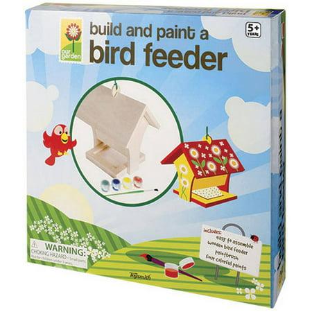 Toysmith Build And Paint Birdfeeder