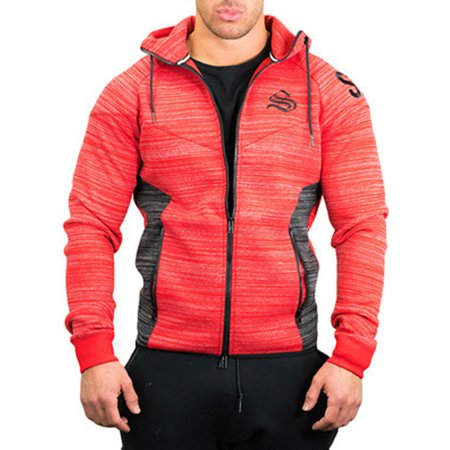 Men Slim Sleeve Casual Activewear Jacket