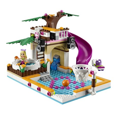 Lego Friends Girls Heartlake City Swimming Pool Minifigures 41008