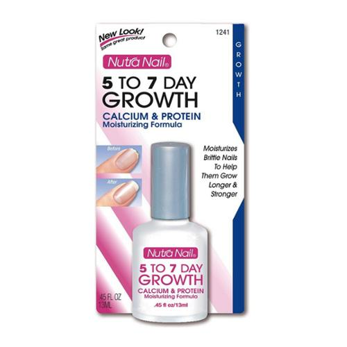 Nutra Nail 5 To 7 Day Growth Calcium Formula, 0.45 oz (Pack of 4)