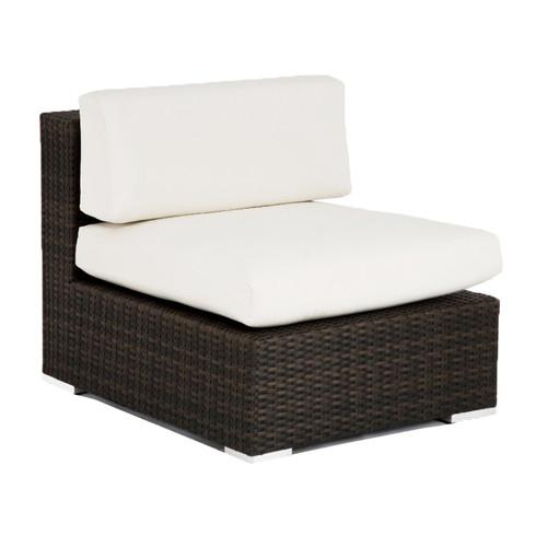 Source Outdoor Manhattan Armless Deep Seating Chair