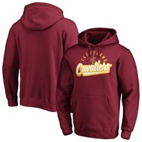 Men's Fanatics Branded Wine Cleveland Cavaliers Super Sweep Pullover Hoodie