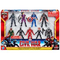 Captain America Civil War Hero vs Hero Faceoff Mini Figure 9-Pack