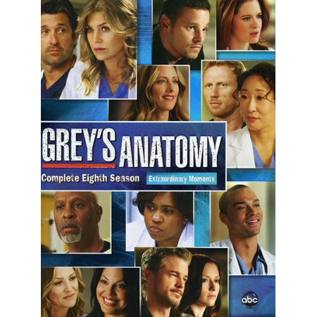Greys Anatomy  The Complete Eighth Season    Dvd