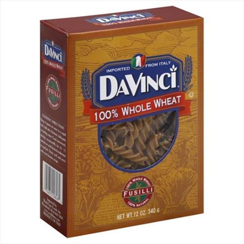 DaVinci Whole Wheat Rotini, 12 OZ (Pack of 12)