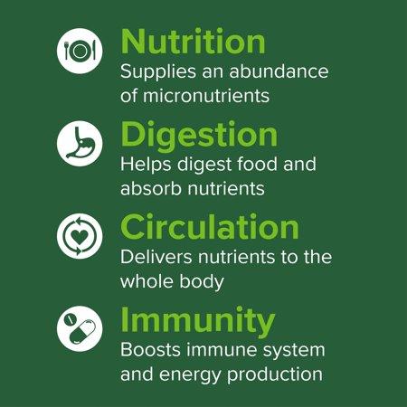 Vibrant Health, Green Vibrance, Plant-Based Superfood Powder, Vegan Friendly, 15 Servings