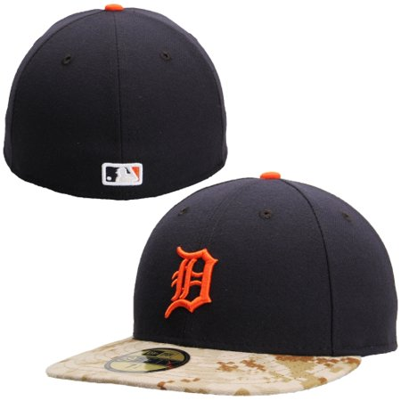 Detroit Tigers New Era Memorial Day Stars   Stripes On-Field 59FIFTY Fitted  Hat - Navy Camo - Walmart.com 6b8201180670