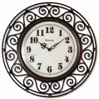 Product Image 32021a 12 Plastic Rod Iron Wall Clock