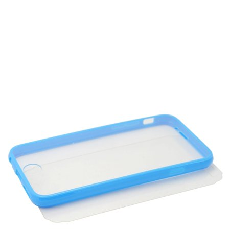 Insten Book TPU Case For Apple iPhone 6s Plus / 6 Plus - Clear/Blue - image 1 de 4