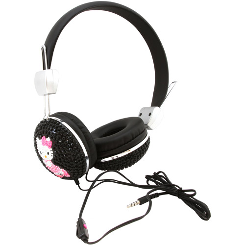 Hello Kitty Bling Headphones by Sakar