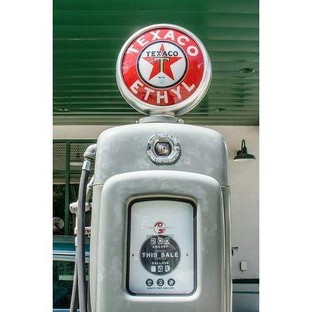 LAMINATED POSTER Gas Station Vintage Retro Antique Gas Pump Gas Poster  Print 24 x 36