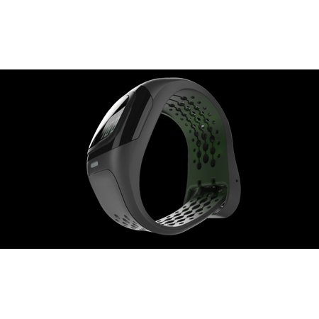 Mio ALPHA 2 58P-BLK Performance Heart Rate Training Sport Watch - Black - (Precision Trainer Heart Rate Monitor)