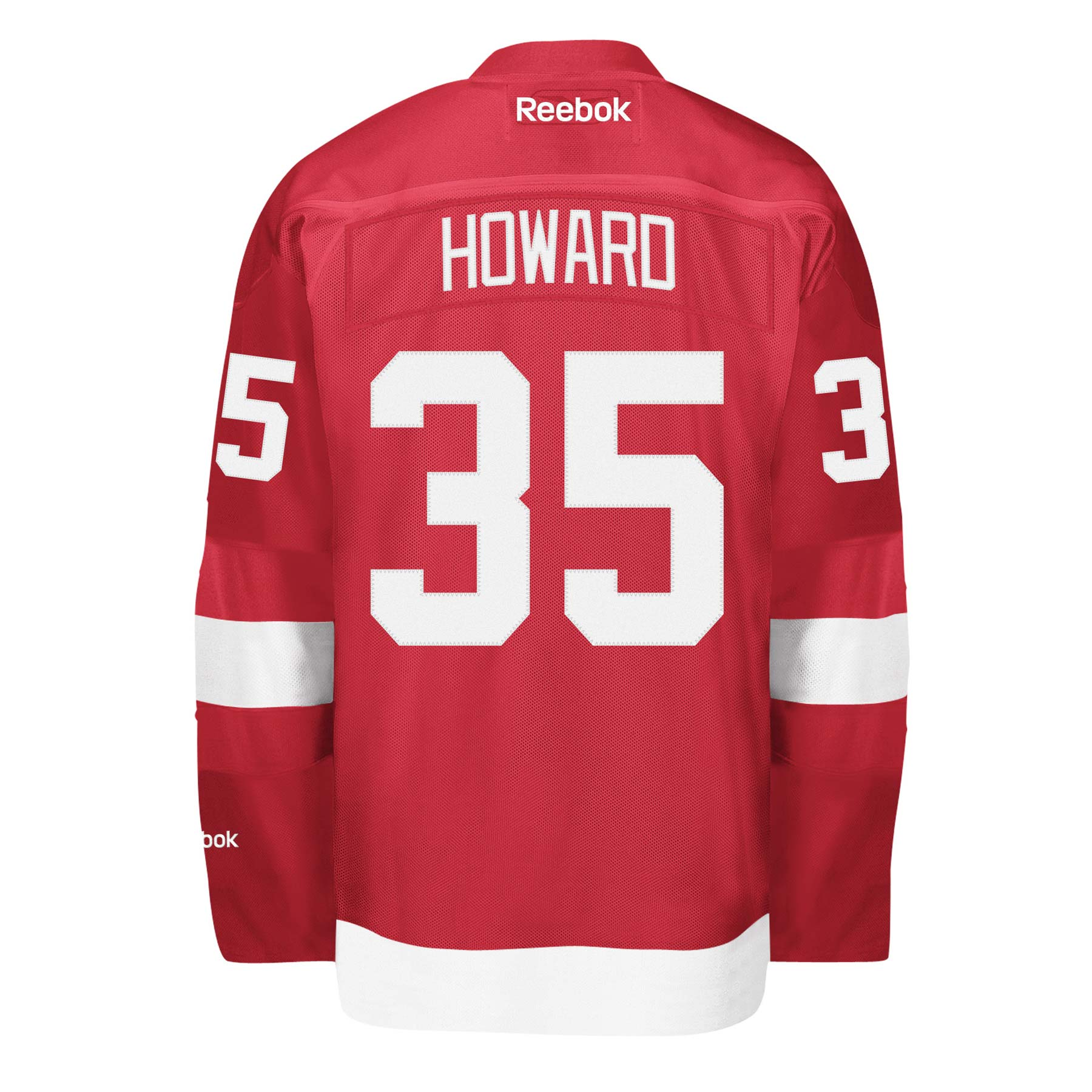 ... new style jimmy howard detroit red wings reebok premier replica home nhl  hockey jersey 9b86c 6e99a fa7164bbb