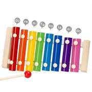 Sunisery Childrens Musical Instruments Baby Xylophone Developmental Wooden Toys