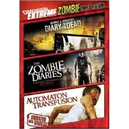 DIMENSION EXTREME ZOMBIE TRIPLE FEAT (DVD/DIARY OF D/ZOMBIE S/AUTOMATON T)