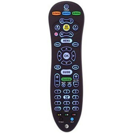 AT&T U-Verse S30-S1A Universal Remote Control Blue Backlight (Refurbished) (Att Uverse Tv)