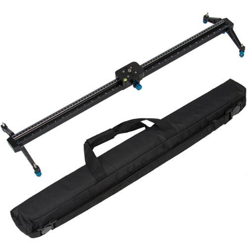 """Pro 32"""" DSLR Camera Slider Dolly Track Video Stabilizer Camcorder Stabilization"""