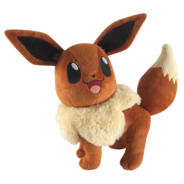 Pokémon; Large Plush, Eevee, Create your own Pokémon adve...