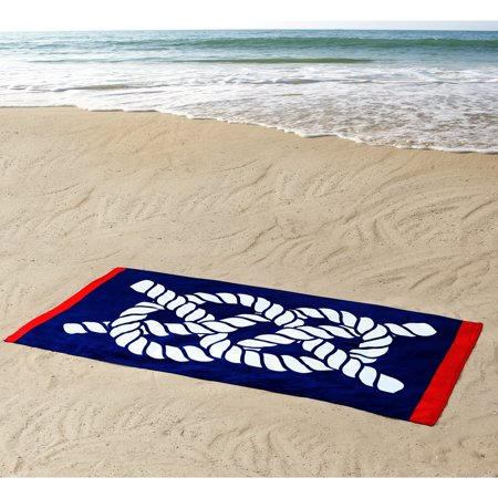 Thomas Paul Seedling by Nautical Knot 100% Cotton 36x72 Beach Towel - Paul Frank Towel
