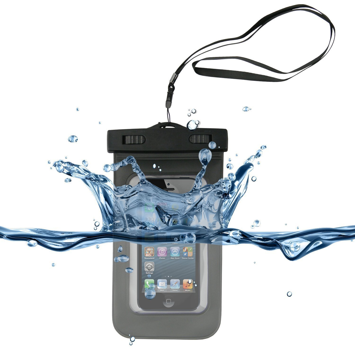 Universal Waterproof Carrying Bag Case Pouch for Cell Phone iPhone 6 6S 6S 7 8 Plus iPhone X , Galaxy S9 S9 Plus S8 S8 Plus S7 S6 S5 S4 S3 S2, Note 8 5 3 2 1, HTC, Motorola, Nokia, Sony and more