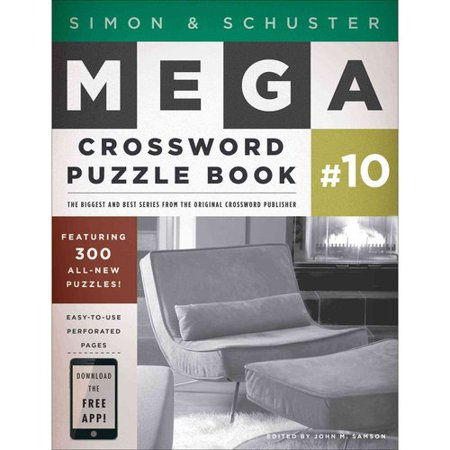 Simon & Schuster Mega Crossword Puzzle Book Series 10