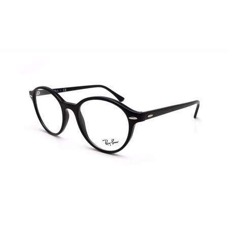 3e98e5f4108 Ray Ban Round Eyeglasses RB 7110 2000 Glossy Black Frames RX-ABLE 49MM