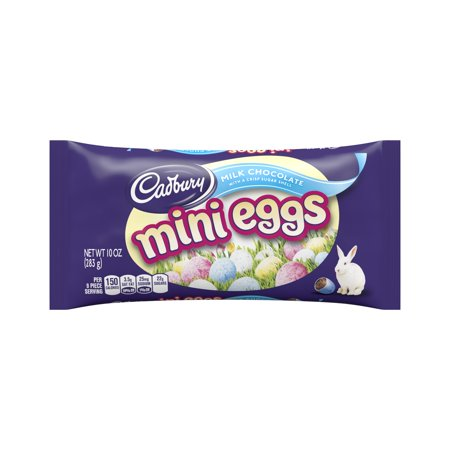 Cadbury Mini Eggs, Easter Milk Chocolate Candy, 10 Oz