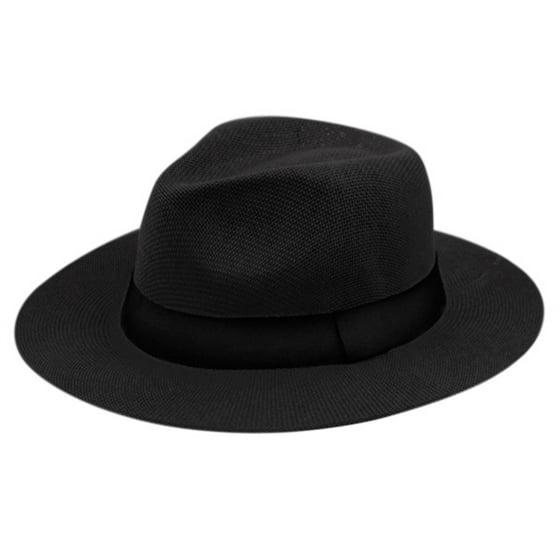 Summer Big Brim Panama Hat Fedora 5b587bbad6d