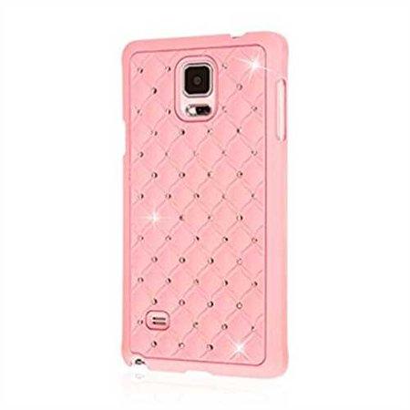 Refurbished Samsung Galaxy Note 4 Case, EMPIRE GLITZ Slim-Fit Raised Edge Sleek Eye Catching Crystal Jewels Design Hard Galaxy Note 4 Case (