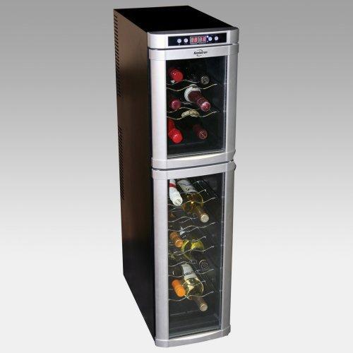 Koolatron WC18 18-Bottle Dual Zone Wine Cooler