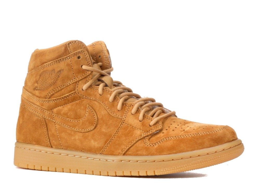 buy online 1e168 546c9 Air Jordan - Men - Air Jordan 1 Retro High Og  Golden Harvest  - 555088-710  - Size 9
