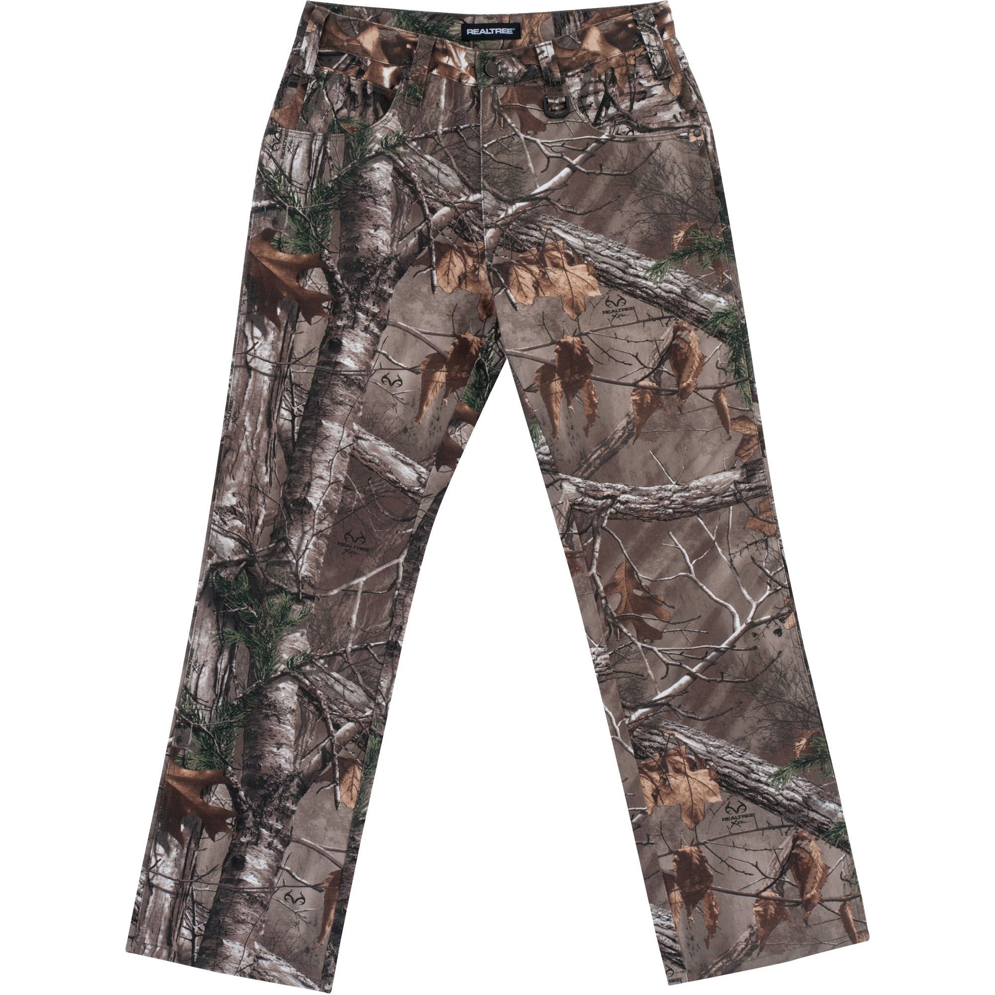 Men's 5-Pocket Pants, Available in Realtree and Mossy Oak